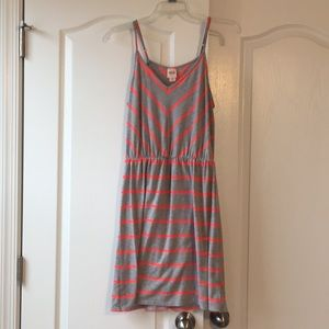Striped dress/cover up